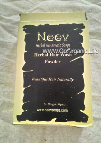 Herbal Hair Wash Powder - Neev (50gm)