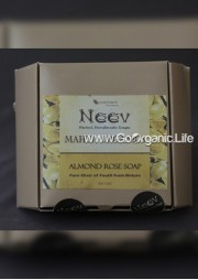 Almond Rose Soap - Neev  (100g)