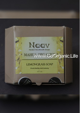 Mahua Organics  LemonGrass Soap - Neev  (100gm)