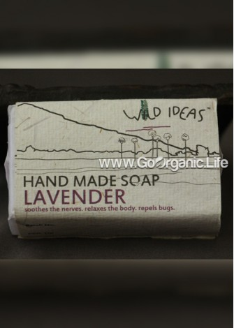 Handmade Soap Lavender - Wild Ideas (100gm)
