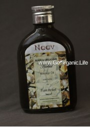Herbal Massage Oil with Herbs for Pain Relief - Neev (100 ml)