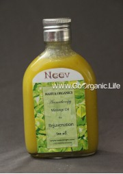 Herbal Massage Oil for Rejuvenation - Neev (100 ml)
