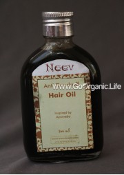 Anti Dandruff Hair Oil Inspired by Ayurveda - Neev (100 ml)