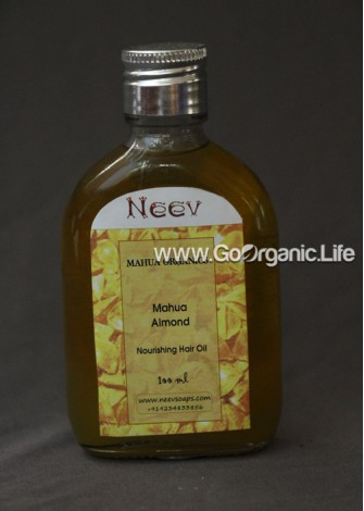 Mahua Organics Herbal Massage Oil with Herbs for Pain Relief - Neev
