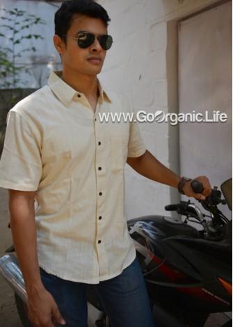 Men's Half Sleeve  Slim fit Shirt
