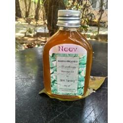 Organic Aromatherapy Massage Oil For Skin Toning (100 ml)