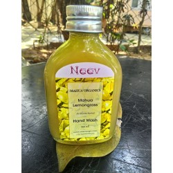 Organic Lemon Grass Hand Wash - Neev  (100 ml)