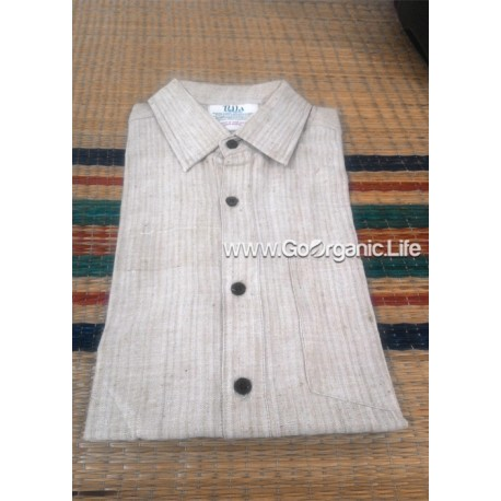 Men's Half Sleeve Stripes  Slim fit Shirt
