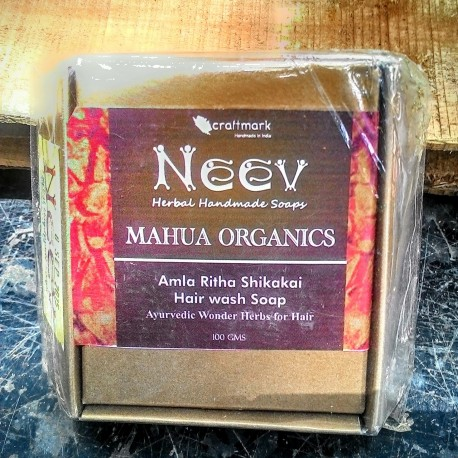 Shikakai Amla Ritha Soap - Neev  (100g)