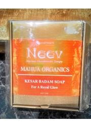 Kesar Badam Soap - Neev  (100g)